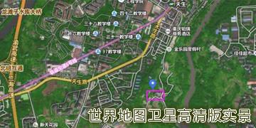 世界地图卫星高清版实景