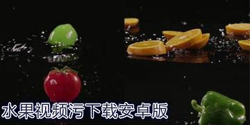 水果视频污下载安卓版