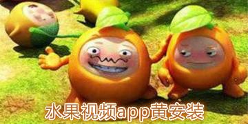 水果视频app黄安装