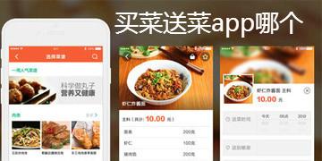买菜送菜app哪个