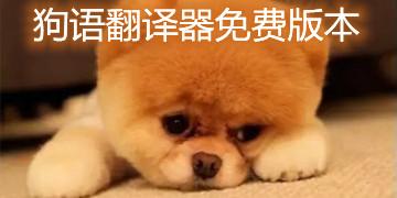 狗语翻译器免费版本