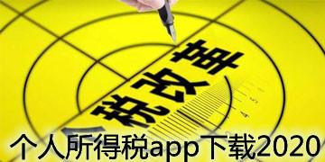 个人所得税app下载2020