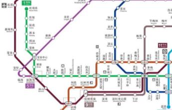 深圳地铁图