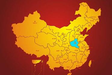 中国地图全图各省各市