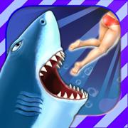饥饿鲨破解版无限钻石版无限金币版7.6版本