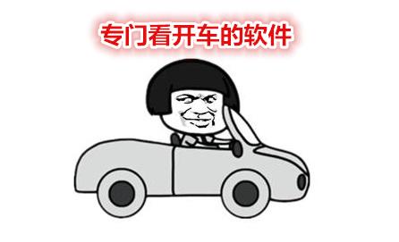 专门看开车的软件