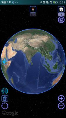 奥维互动地图卫星高清全景
